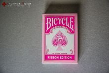 Карты Bicycle Ribbon Edition розовые