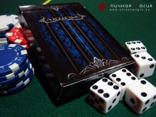 Карты Artifice Playing Cards V1 blue первое издание синие