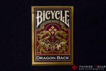 Карты Bicycle Dragon Back gold
