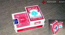 Карты Bicycle Mini Deck красные