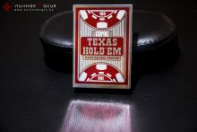 Карты Copag Texas Hold'em Peek index красные