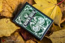 Карты Crown Deck Green зеленые