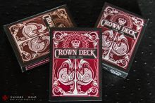 Карты Crown Deck Red красные