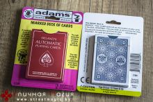 De Land's Automatic playing cards красные