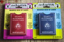 De Land's Automatic playing cards синие