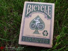Карты Bicycle Eco Edition Green зеленые