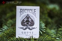 Карты Bicycle Ghost белые